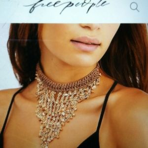 Free people Sea of Love Collar necklace
